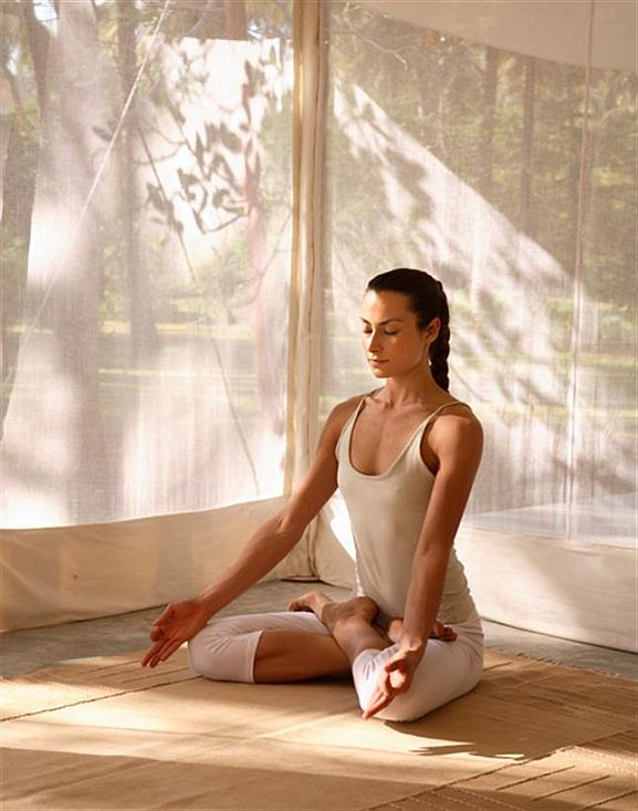 Начать вести здоровый образ жизни - медитация