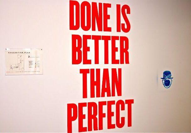 Избавиться от перфекционизма