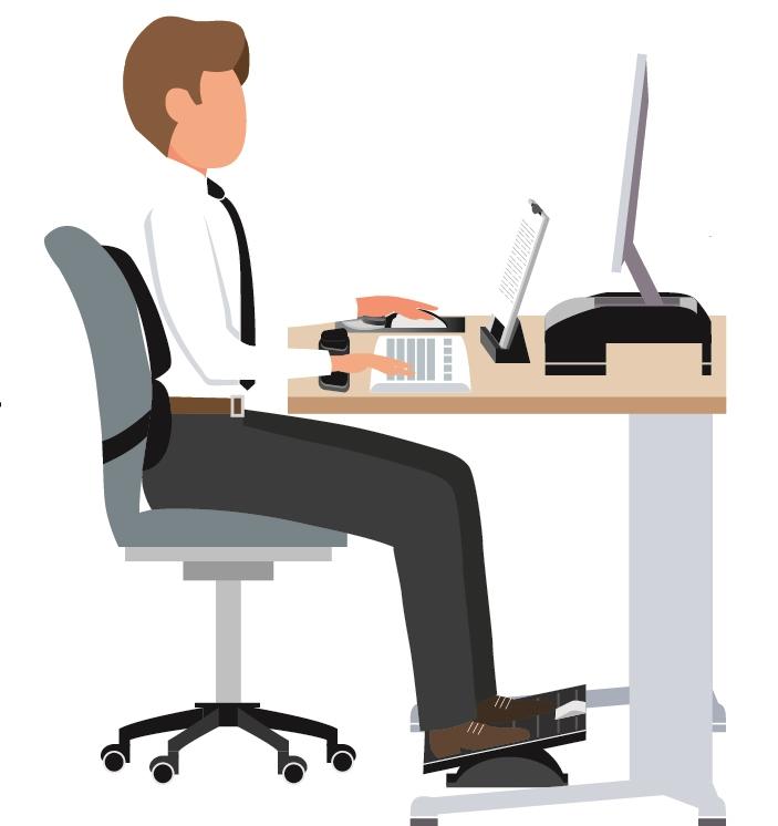 Картинки с человеком за компьютером или за столом