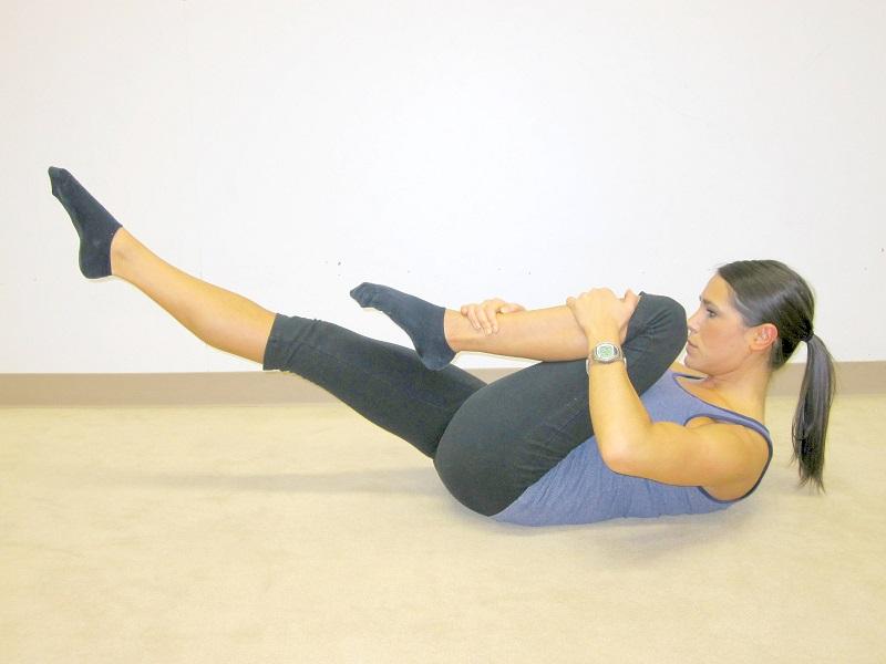 упражнения для похудения спины и плеч