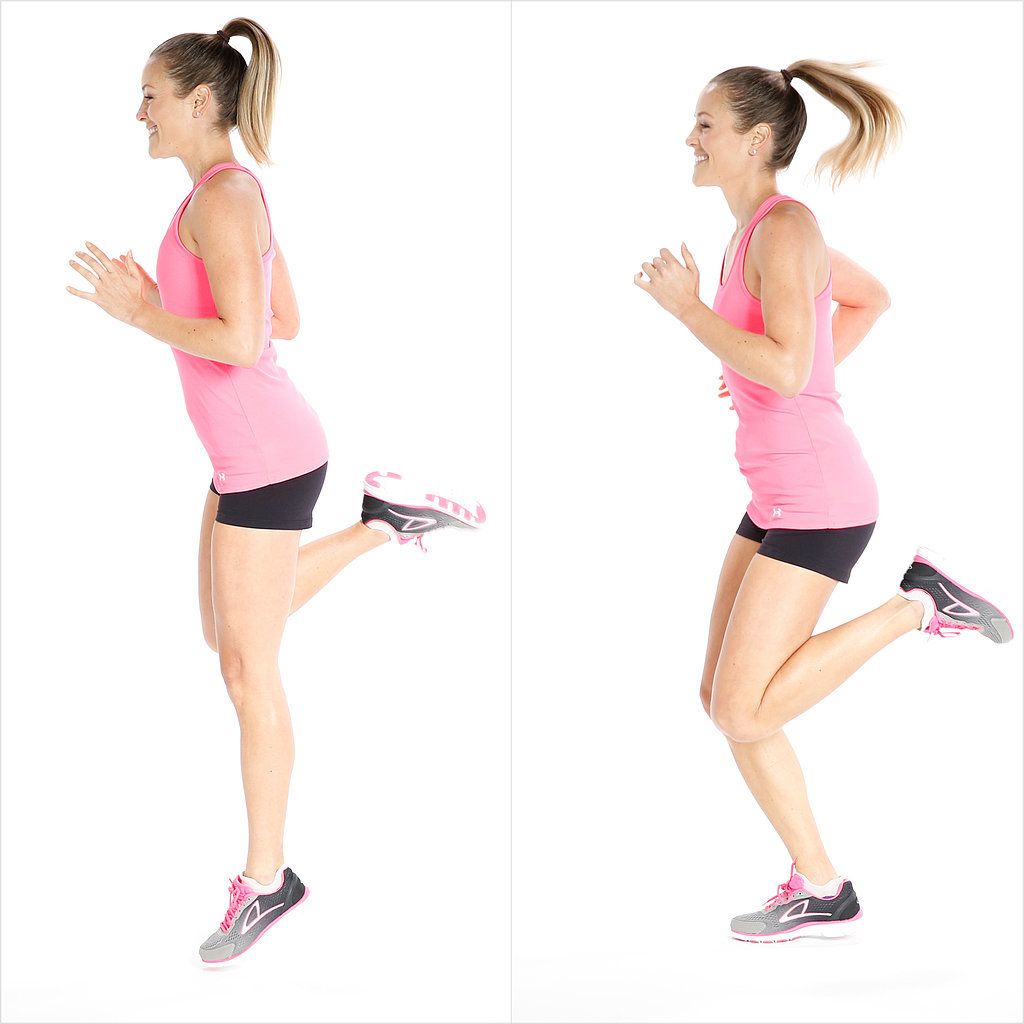 Как правильно бегать чтобы похудели икры