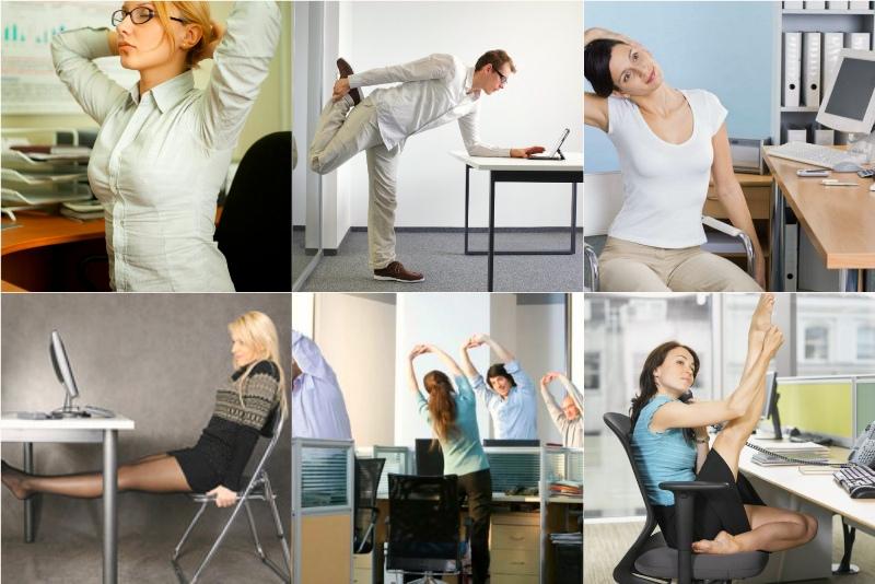 упражнения за рабочим столом картинки среднего профессионального