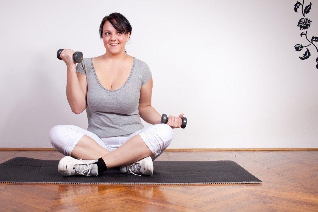 Легкая физическая нагрузка для похудения