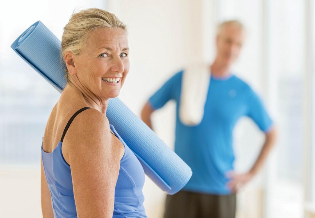 Упражнения при климаксе для похудения