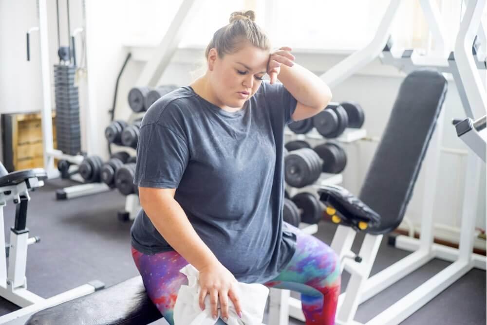 Как на тренировке сбросить вес