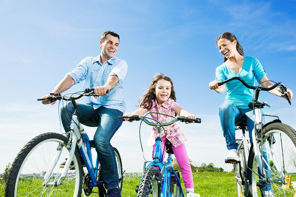 чисто велосипед для всей семьи фото строгое профиле
