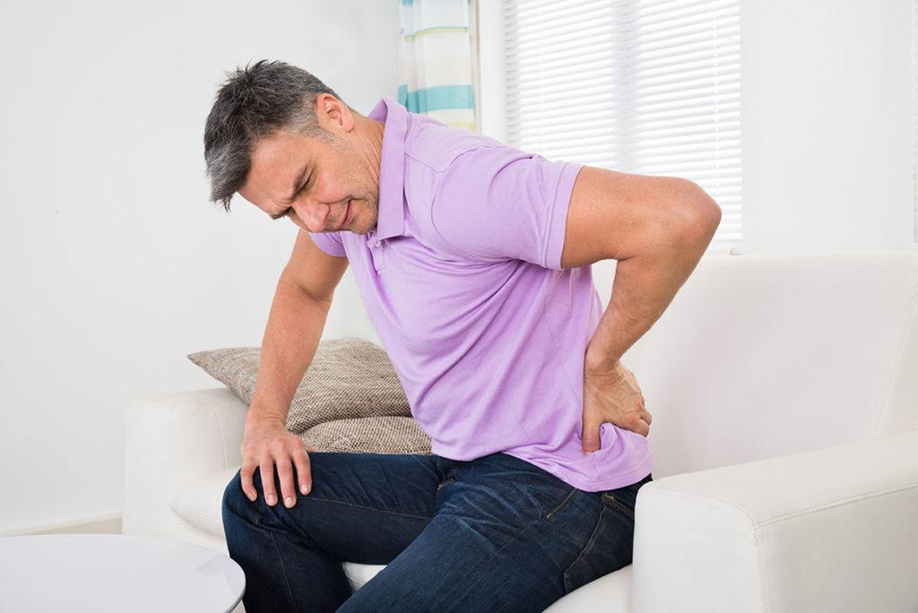Боли в пояснице от простатита ванночка от простатита