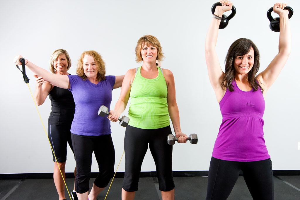 Фитнес похудения и занятия
