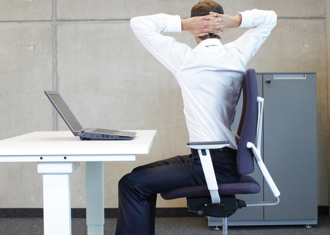 упражнения за рабочим столом картинки этого
