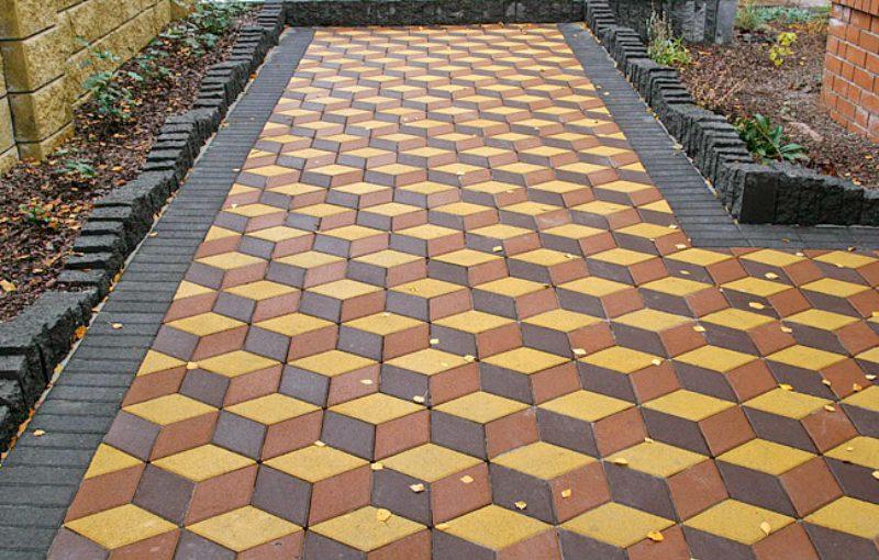 Основные разновидности тротуарной плитки