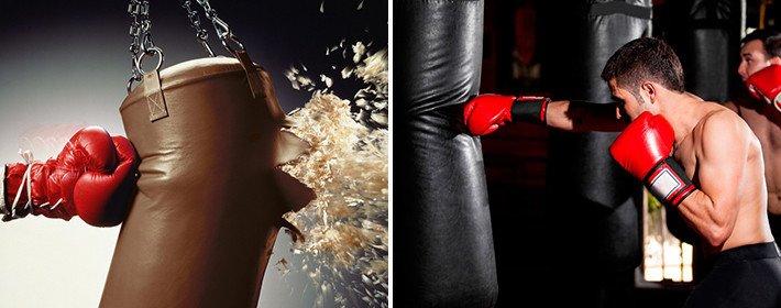 Виды набивки боксерских груш - какая лучше