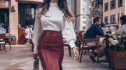 Яркие и лаконичные юбки — тренд сезона 2021-2022