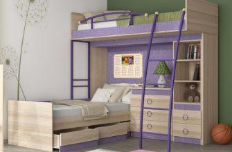 Как выбрать практичную двухъярусную кровать