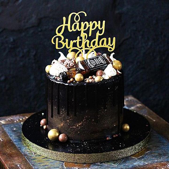 Торт на день рождения мужчине от кондитерской NewTort