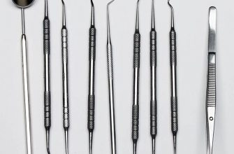Основные инструменты для пломбирования зубов