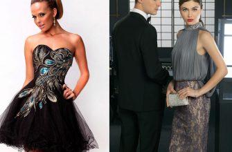 7 самых популярных фасонов вечерних платьев