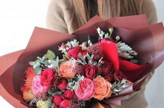 Самые популярные виды упаковки для цветов
