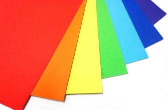 Какая бывает цветная бумага: виды и особенности